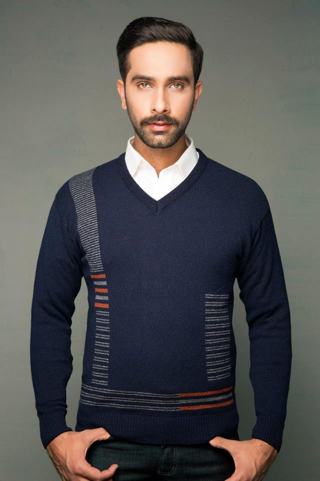 Bonanza Latest Winter Sweaters, Jackets & Coats Collection 2014-2015 for Men & Boys (13)