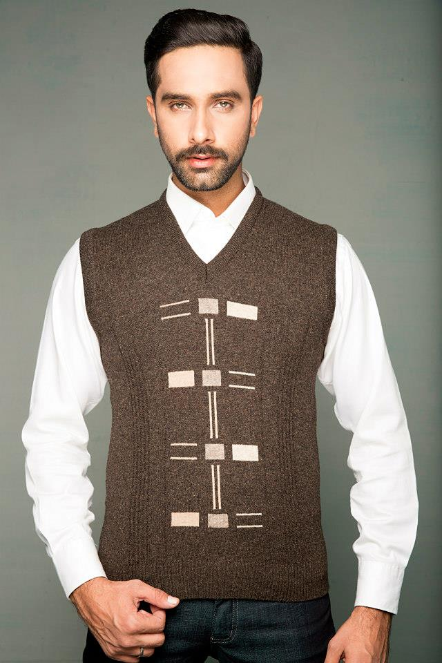 Bonanza Latest Winter Sweaters, Jackets & Coats Collection 2014-2015 for Men & Boys (16)