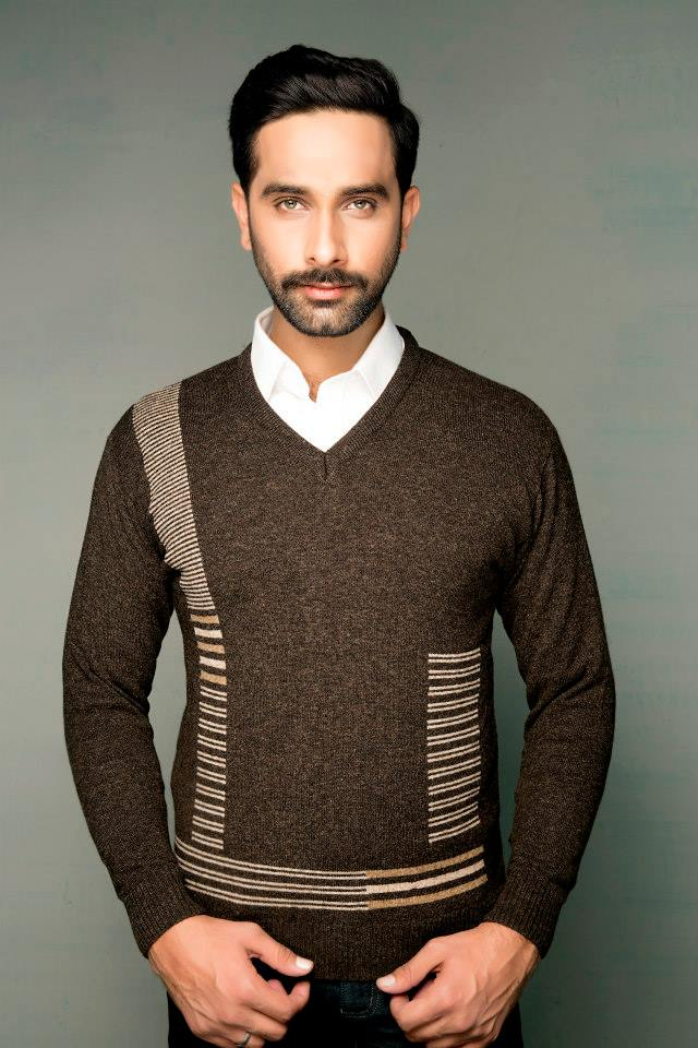Bonanza Latest Winter Sweaters, Jackets & Coats Collection 2014-2015 for Men & Boys (17)