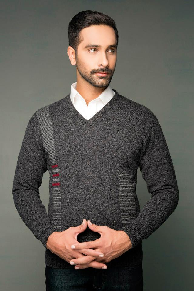 Bonanza Latest Winter Sweaters, Jackets & Coats Collection 2014-2015 for Men & Boys (18)