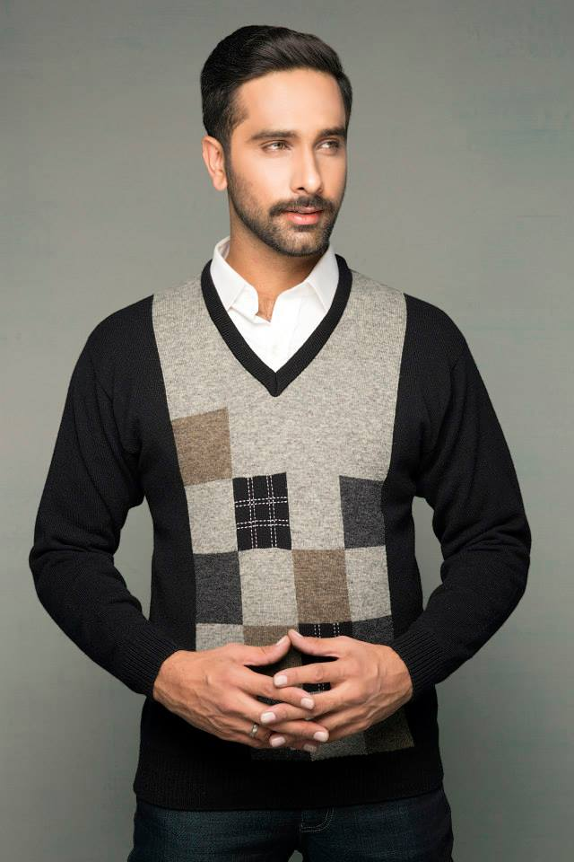 Bonanza Latest Winter Sweaters, Jackets & Coats Collection 2014-2015 for Men & Boys (19)