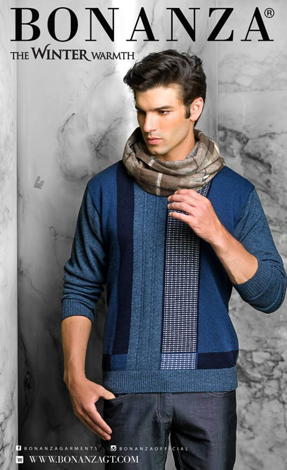 Bonanza Latest Winter Sweaters, Jackets & Coats Collection 2014-2015 for Men & Boys (22)