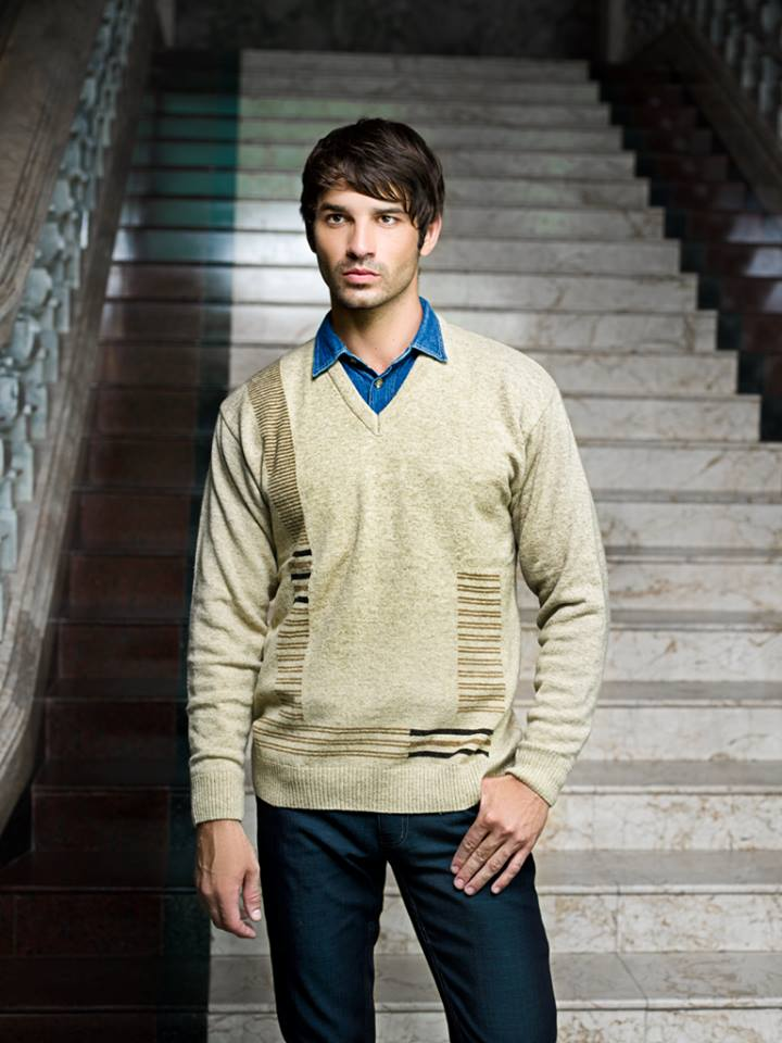 Bonanza Latest Winter Sweaters, Jackets & Coats Collection 2014-2015 for Men & Boys (7)