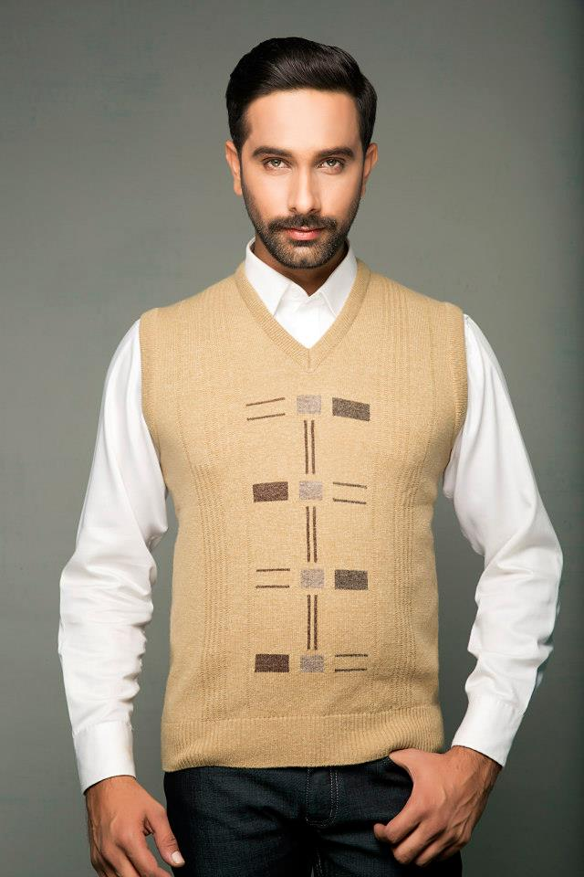 Bonanza Latest Winter Sweaters, Jackets & Coats Collection 2014-2015 for Men & Boys (8)