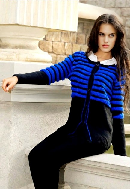 Bonanza Latest Winter Sweaters, Jackets & Coats Collection 2014-2015 for Women & Girls (10)