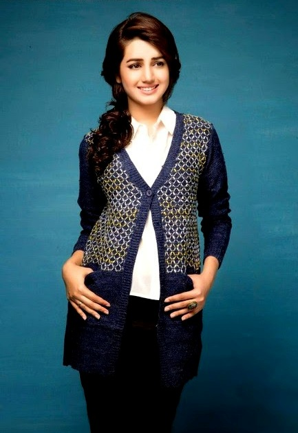 Bonanza Latest Winter Sweaters, Jackets & Coats Collection 2014-2015 for Women & Girls (5)
