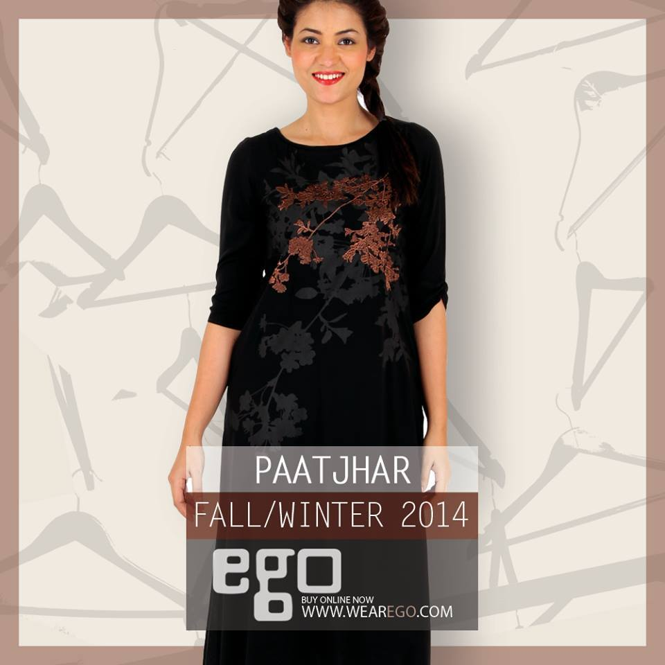Ego Fall Winter Collection Stylish Dresses for Women 2014-2015 (1)
