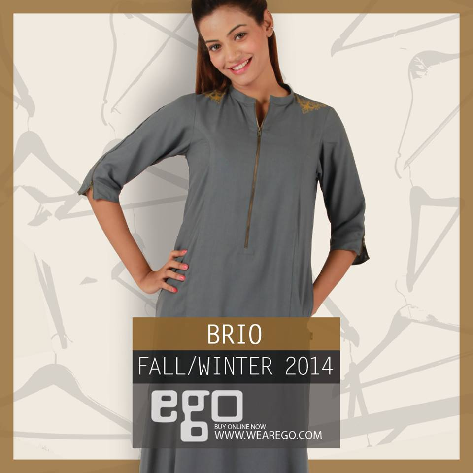 Ego Fall Winter Collection Stylish Dresses for Women 2014-2015 (10)