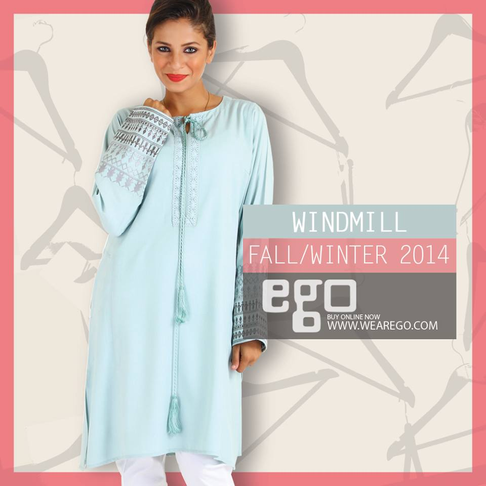 Ego Fall Winter Collection Stylish Dresses for Women 2014-2015 (12)