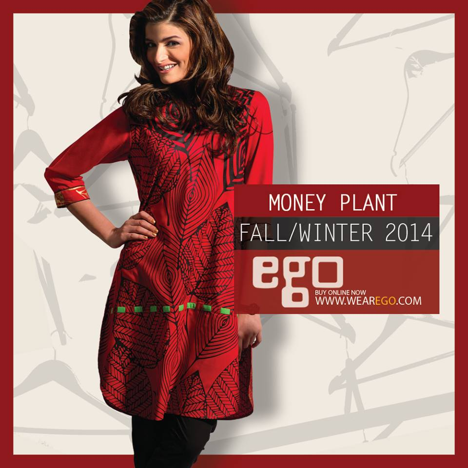 Ego Fall Winter Collection Stylish Dresses for Women 2014-2015 (16)