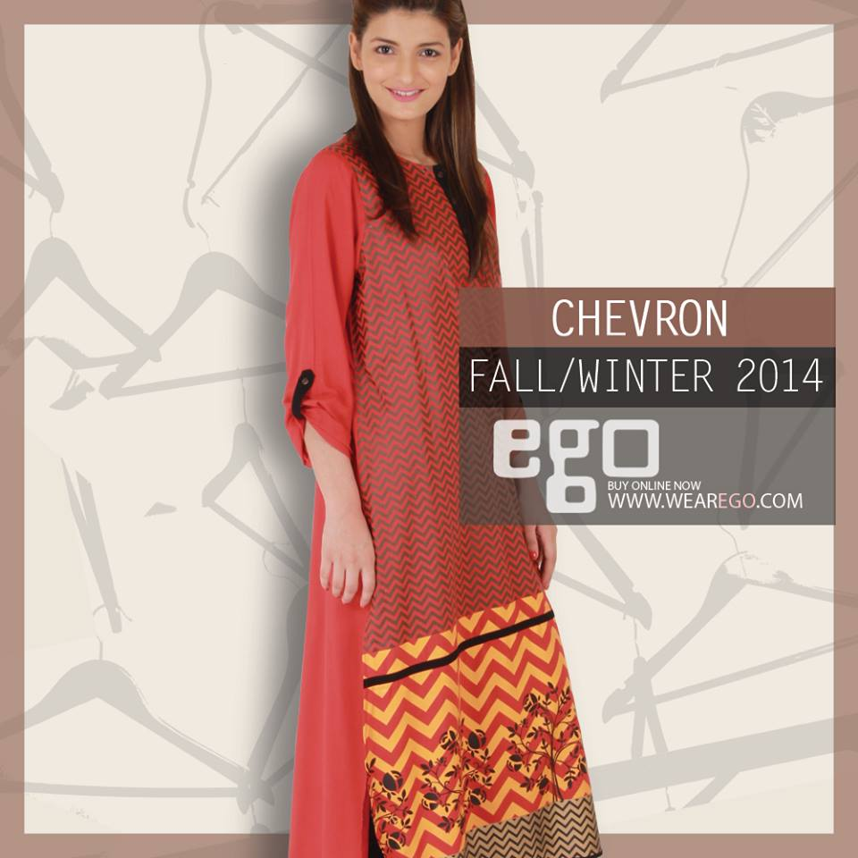 Ego Fall Winter Collection Stylish Dresses for Women 2014-2015 (21)