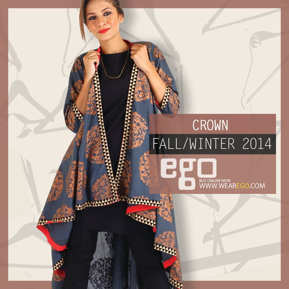 Ego Fall Winter Collection Stylish Dresses for Women 2014-2015 (22)