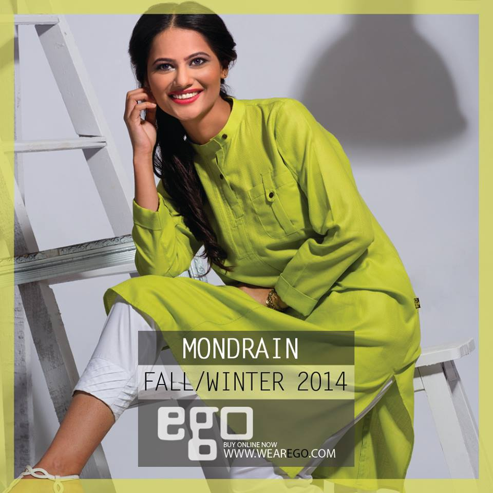 Ego Fall Winter Collection Stylish Dresses for Women 2014-2015 (24)