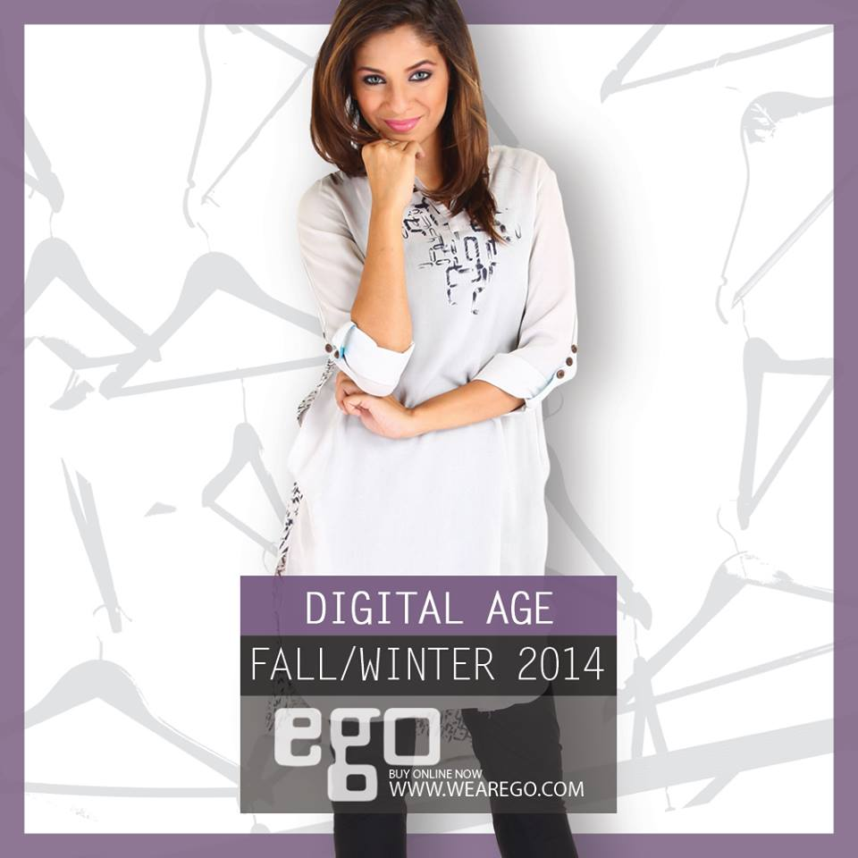 Ego Fall Winter Collection Stylish Dresses for Women 2014-2015 (4)