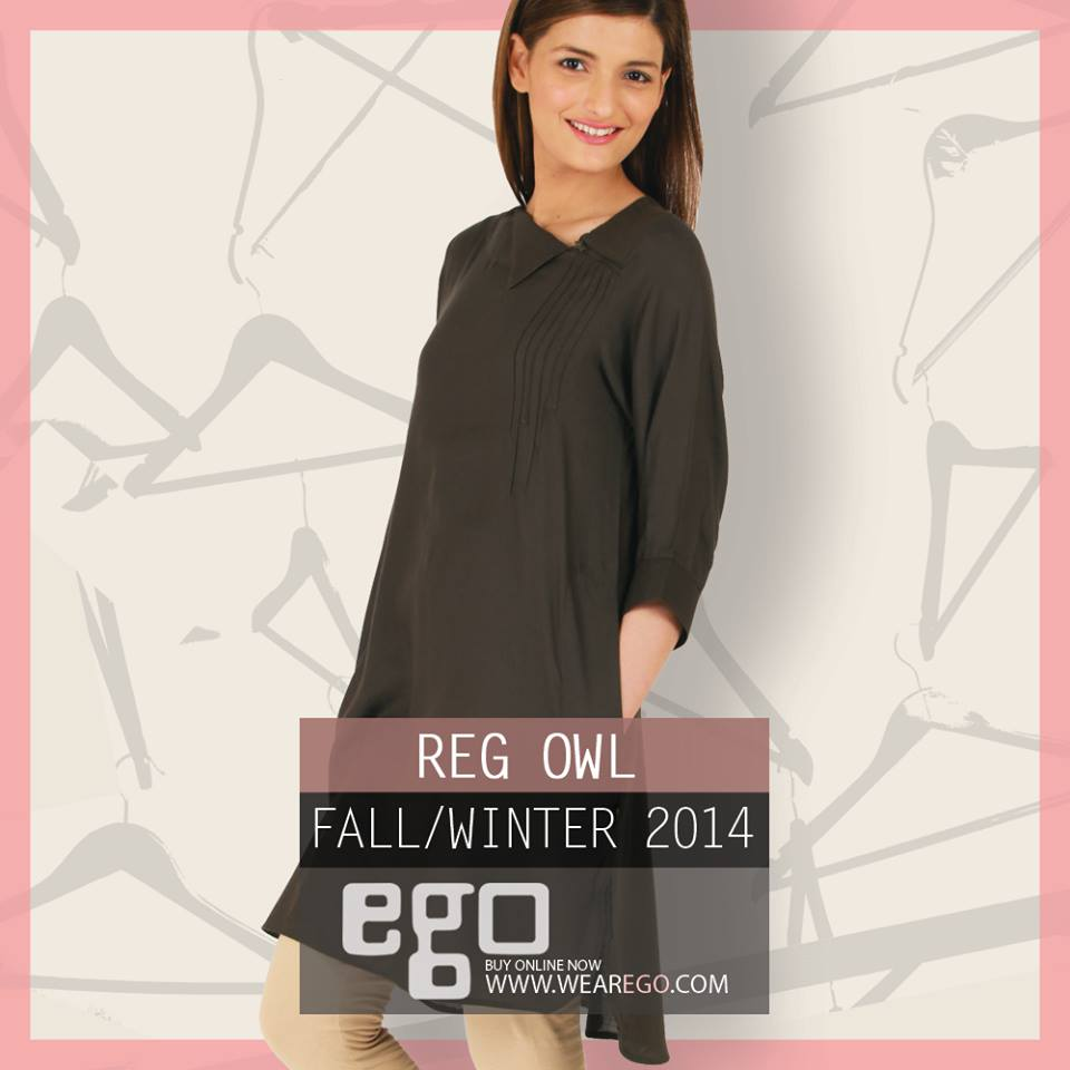 Ego Fall Winter Collection Stylish Dresses for Women 2014-2015 (6)