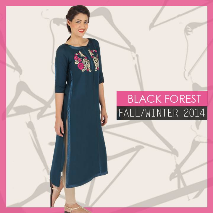 Ego Fall Winter Collection Stylish Dresses for Women 2014-2015 (7)