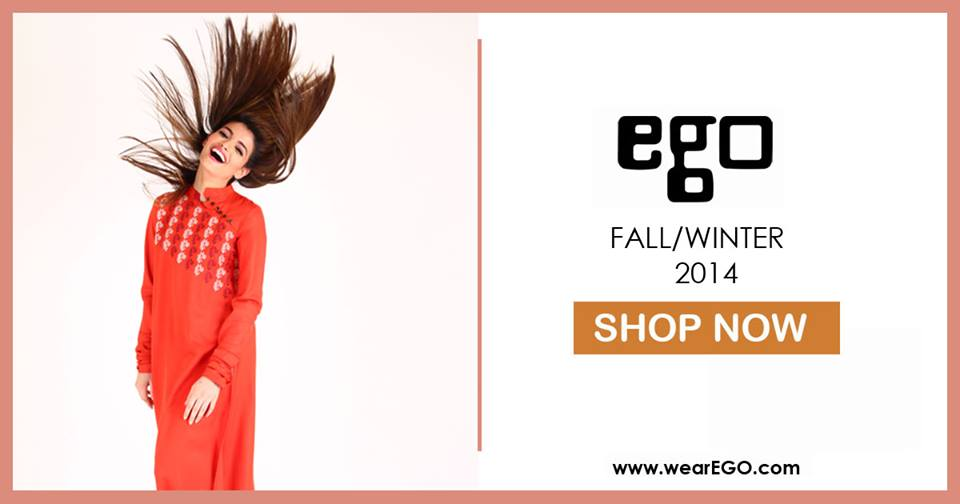 Ego Fall Winter Collection Stylish Dresses for Women 2014-2015 (8)