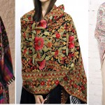 Beautiful Kashmiri Winter Shawls Designs Collection 2015-2016 for Women