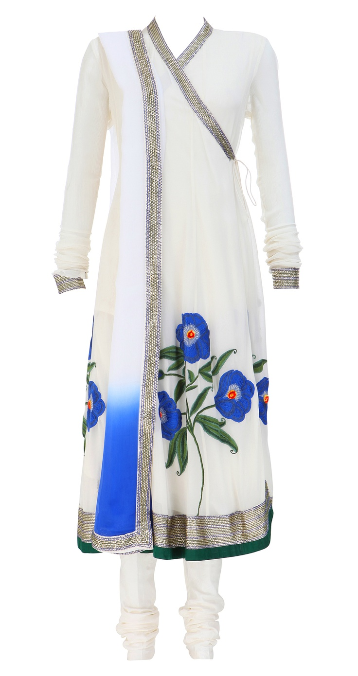 Latest Angrkha Style Shirt Dress Designs & Casual Kurtas for Women (3)