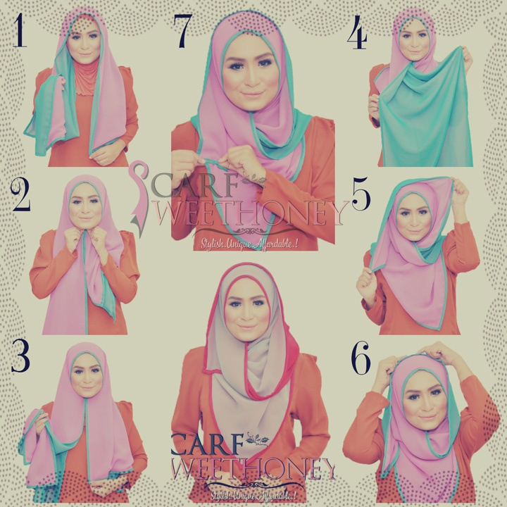Latest Hijab Style DesignTrends & Tutorial For Girls 2015-2016 with Pictures (17)