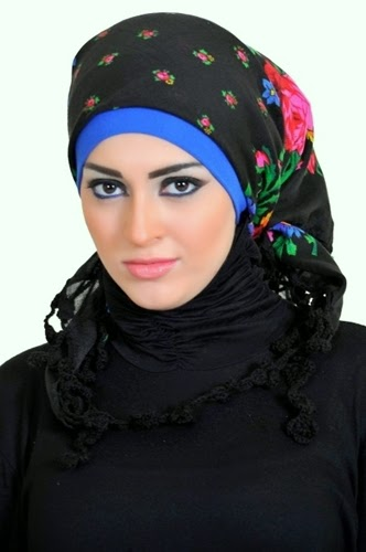 Latest Hijab Style DesignTrends & Tutorial For Girls 2015-2016 with Pictures (18)