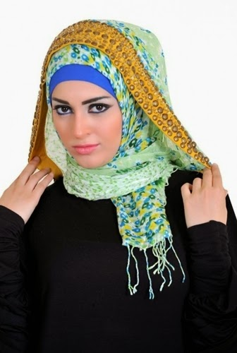 Latest Hijab Style DesignTrends & Tutorial For Girls 2015-2016 with Pictures (20)