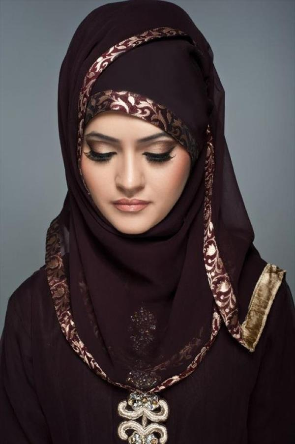 Latest Hijab Style DesignTrends & Tutorial For Girls 2015-2016 with Pictures (32)