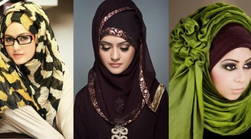 Latest Hijab Style DesignTrends & Tutorial For Girls 2015-2016 with Pictures