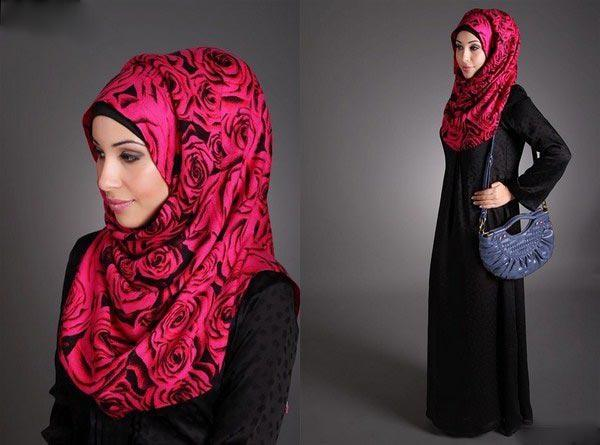 Latest Hijab Style DesignTrends & Tutorial For Girls 2015-2016 with Pictures (37)