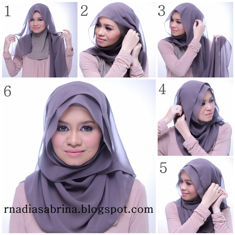 Latest Hijab Style DesignTrends & Tutorial For Girls 2015-2016 with Pictures (4)