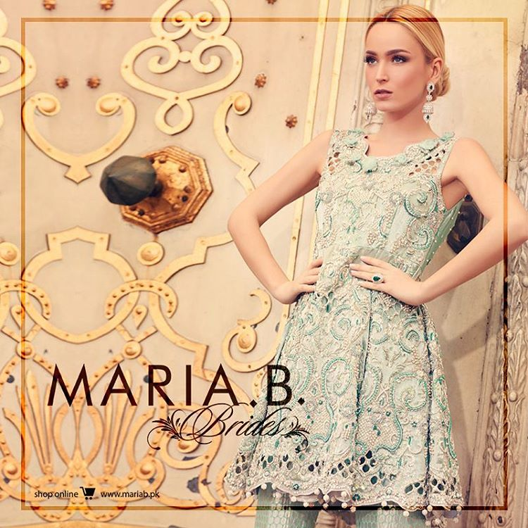 Maria B Bridal Dresses Collection (2)