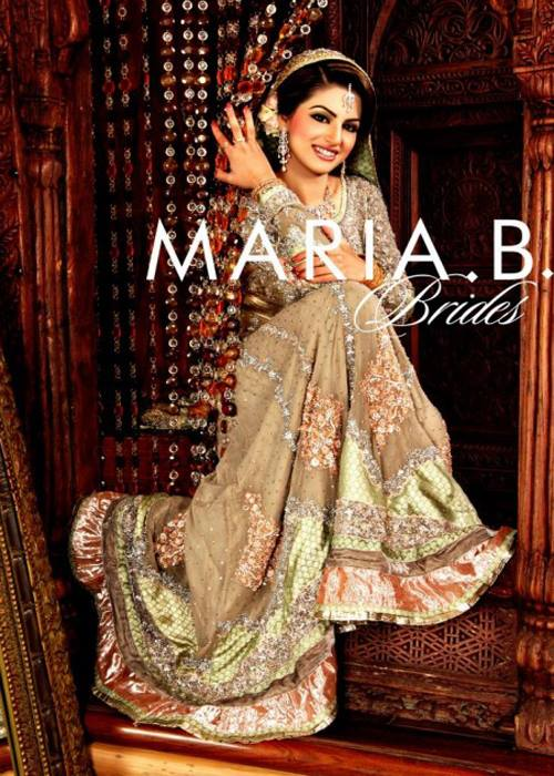 Maria B Latest Bridal dresses Collection 2015-2016 for Wedding Brides (1)