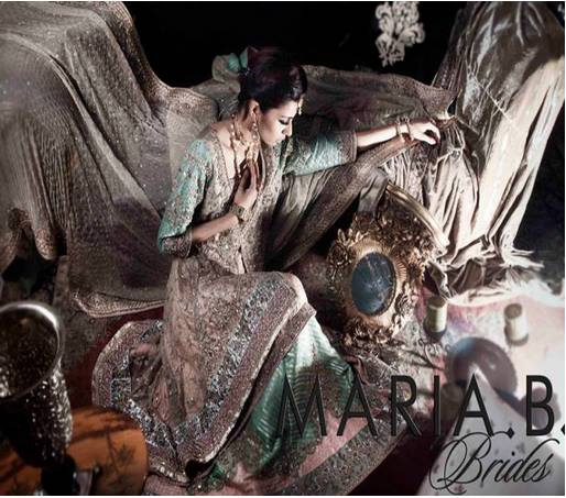 Maria B Latest Bridal dresses Collection 2015-2016 for Wedding Brides (10)