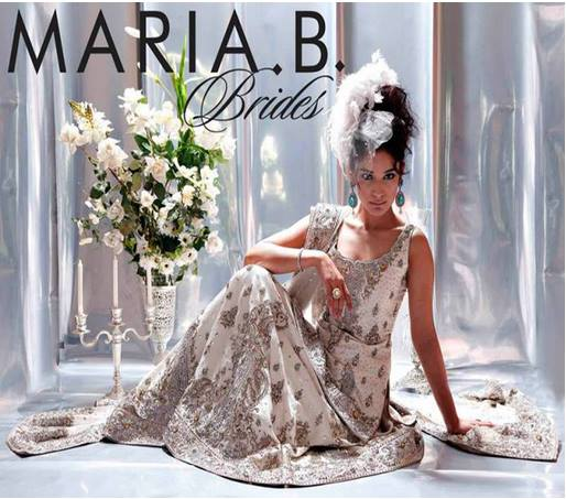 Maria B Latest Bridal dresses Collection 2015-2016 for Wedding Brides (11)