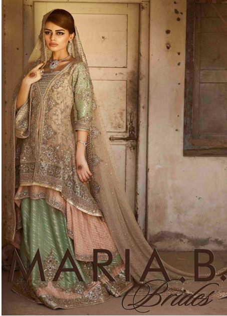 Maria B Latest Bridal dresses Collection 2015-2016 for Wedding Brides (13)