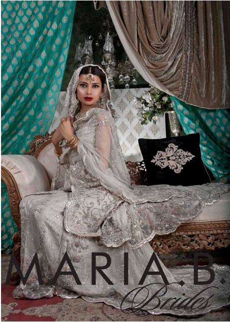 Maria B Latest Bridal dresses Collection 2015-2016 for Wedding Brides (15)