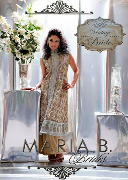 Maria B Latest Bridal dresses Collection 2015-2016 for Wedding Brides (17)