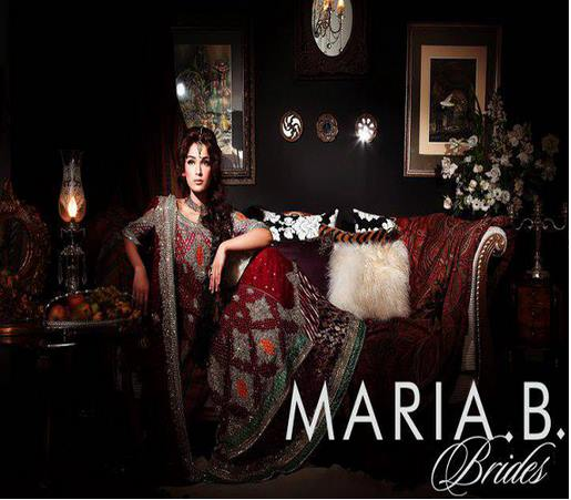 Maria B Latest Bridal dresses Collection 2015-2016 for Wedding Brides (19)