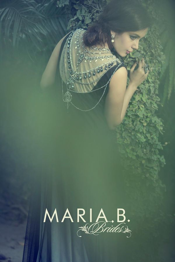 Maria B Latest Bridal dresses Collection 2015-2016 for Wedding Brides (2)