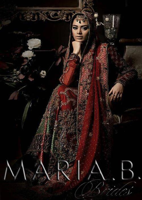 Maria B Latest Bridal dresses Collection 2015-2016 for Wedding Brides (20)