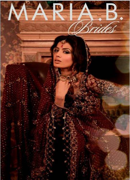 Maria B Latest Bridal dresses Collection 2015-2016 for Wedding Brides (23)