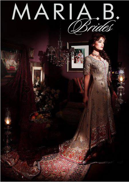 Maria B Latest Bridal dresses Collection 2015-2016 for Wedding Brides (24)