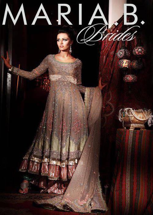 Maria B Latest Bridal dresses Collection 2015-2016 for Wedding Brides (25)