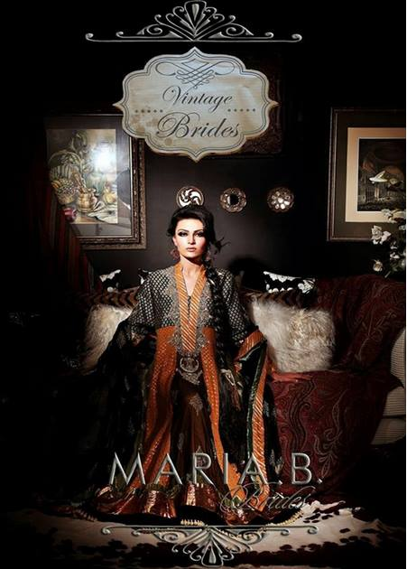 Maria B Latest Bridal dresses Collection 2015-2016 for Wedding Brides (28)