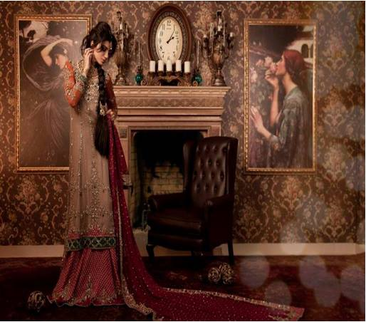 Maria B Latest Bridal dresses Collection 2015-2016 for Wedding Brides (32)