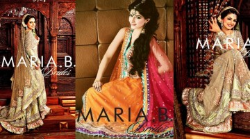 Maria B Latest Bridal dresses Collection 2015-2016 for Wedding Brides