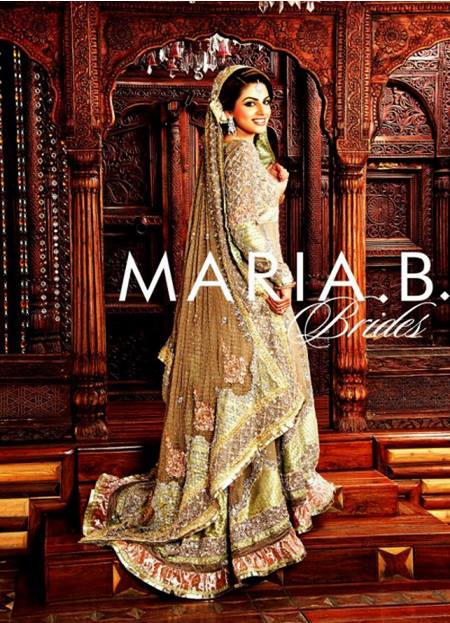 Maria B Latest Bridal dresses Collection 2015-2016 for Wedding Brides (4)