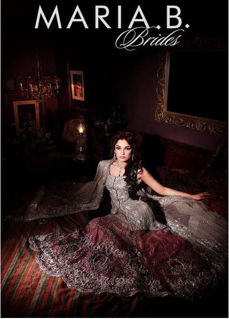 Maria B Latest Bridal dresses Collection 2015-2016 for Wedding Brides (6)