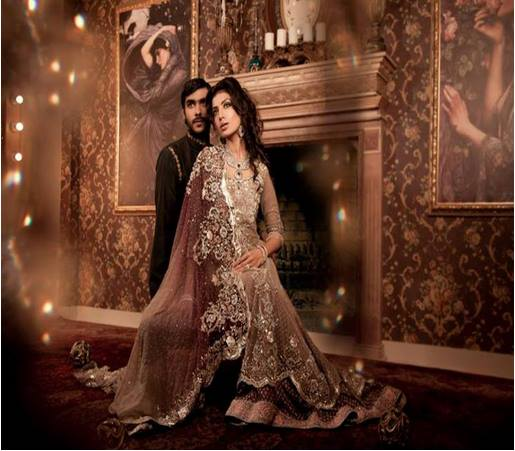 Maria B Latest Bridal dresses Collection 2015-2016 for Wedding Brides (7)