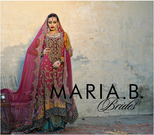Maria B Latest Bridal dresses Collection 2015-2016 for Wedding Brides (8)